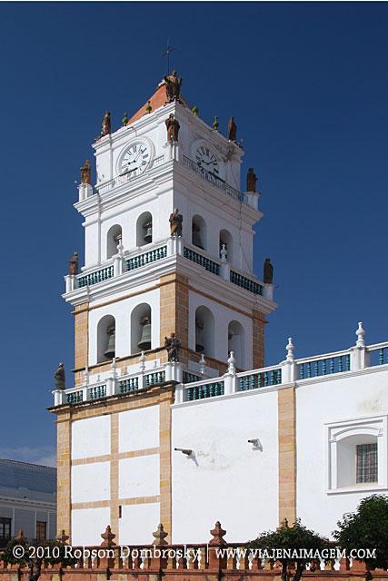 catedral de sucre na bolivia