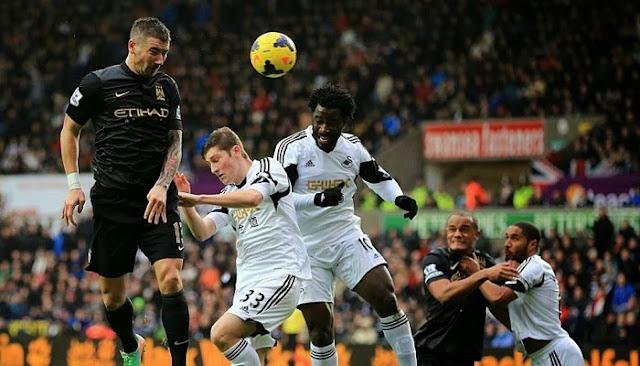 Manchester City vs Swansea City en vivo
