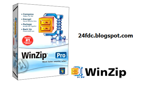 WinZip 16.5 Pro free download full version with crack and Serial