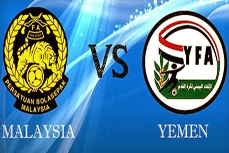 Live Streaming Malaysia vs Yaman 5 Mac 2014 Kelayakan Piala Asia