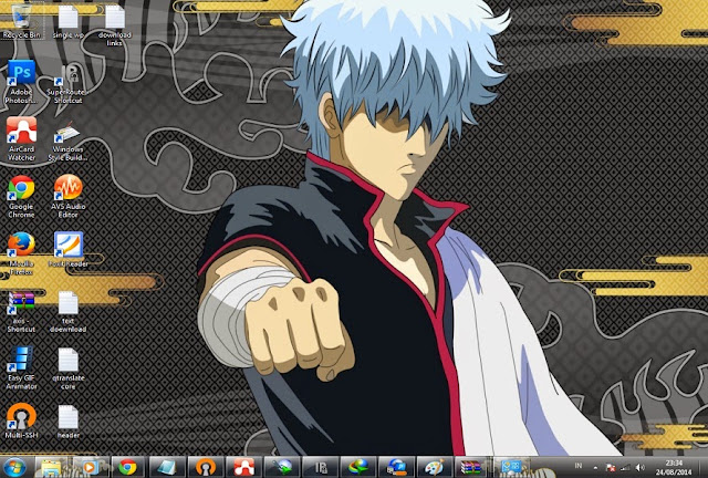 [ Theme Win 7 ] Gintama 3