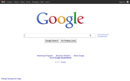 Tampilan Google Dari Tahun ke Tahun 100
