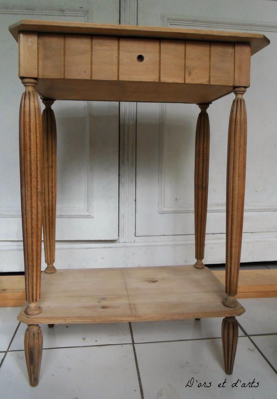 Restauration et relookage meuble