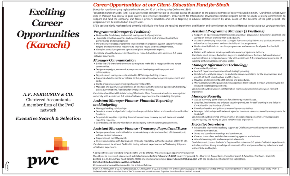 newspaper job opportunities ads