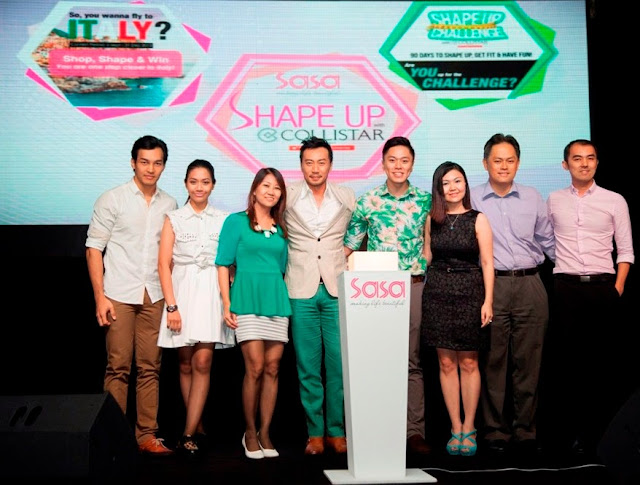 SaSa Malaysia, Shape Up Challenge, Collistar, Biorevitalizing Anticellulite Concentrate, sasa collistar campaign, vip