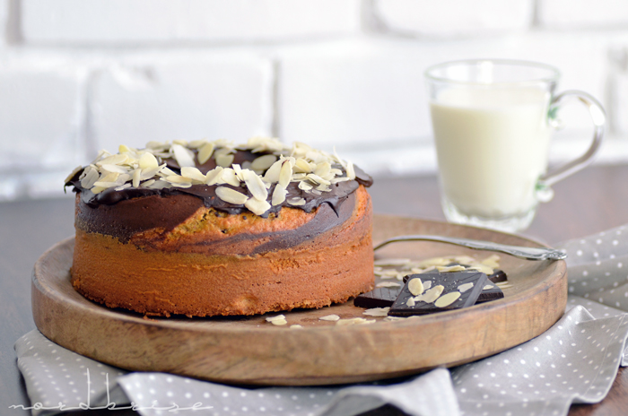 guglhupf cake rührkuchen mandel kakao recipe