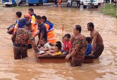 Amaran Tanah Runtuh Banjir Di Sabah