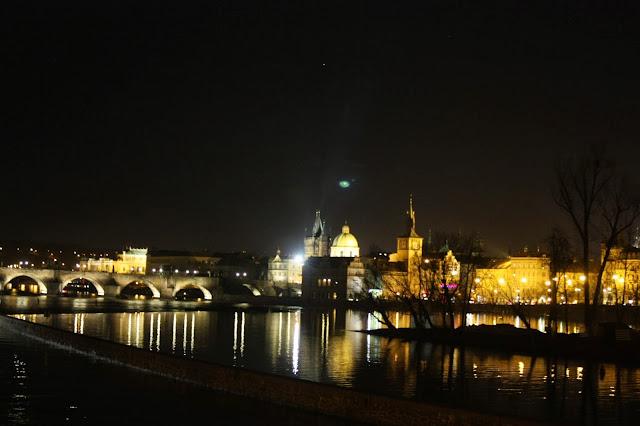 Ночная Прага, Чехия. Prague, Czech republic