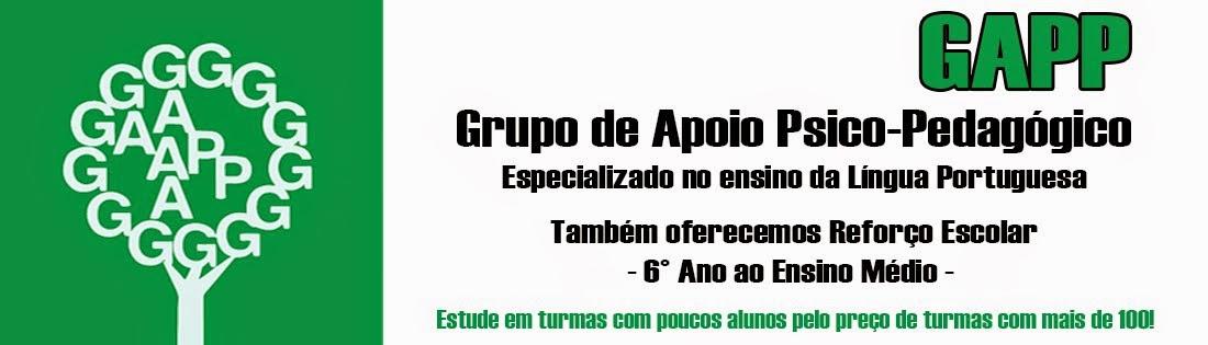 GAPP - Grupo de Apoio Psico-Pedagógico