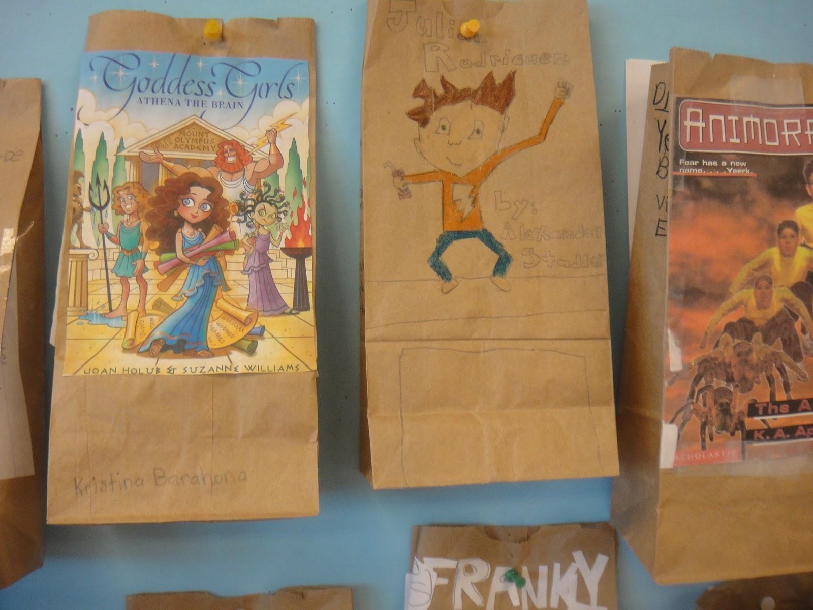 paper bag book report ideas