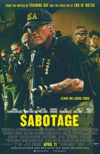 Sabotage 2014 Bioskop