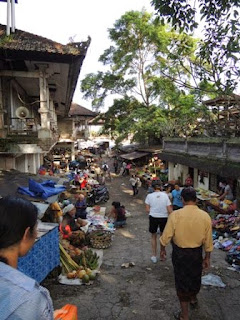 morning market, Payangan, Bali