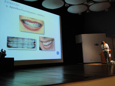 DSC03552 - Dra. Andrea Martinez dá palestra do Clear Aligner na Puc Campinas