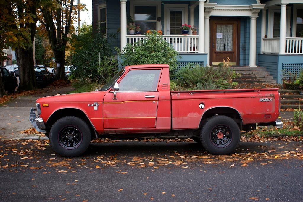 The Street Peep 1979 Chevrolet Luv Mikado