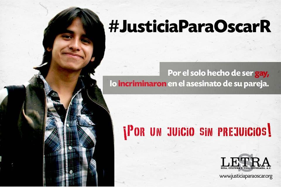 #JusticiaParaOscarR