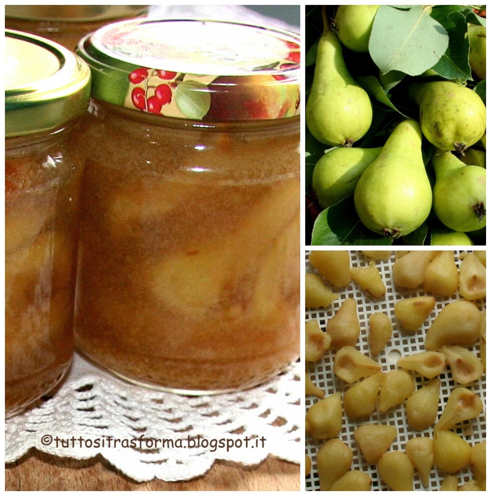 Tuttositrasforma mostarda di pere con l 39 essiccatore for Mostarda di pere mantovana