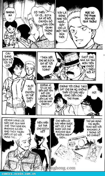 Detective Conan - Thám Tử Lừng Danh Conan chap 513 page 13 - IZTruyenTranh.com