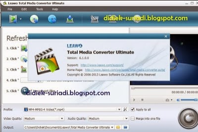 Download Leawo Video Converter Ultimate 6.1