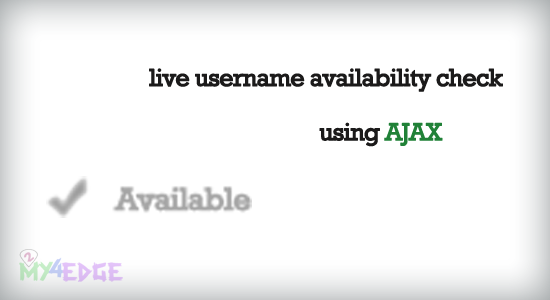 live-user-name-check