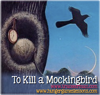 Four Calling Birds: To Kill a Mockingbird - Free Activities for Teachers for Day 4 of the 12 Days of Gift-mas