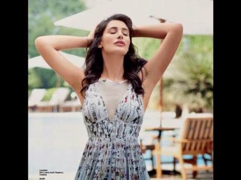 Nargis Fakhri Seductive Photoshoot for Asia Spa Magazine April 2015