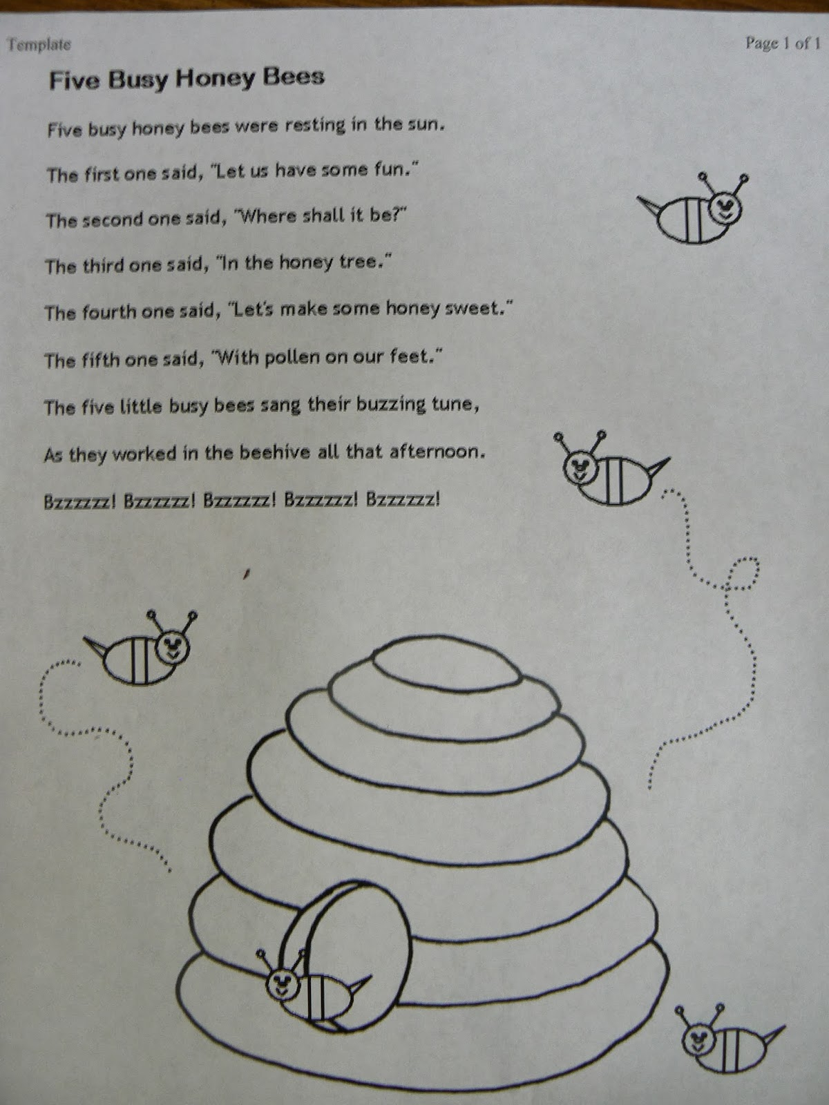 mrs t s first grade class busy buzzy bee books
