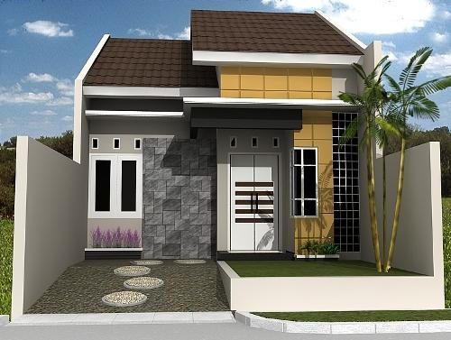 contoh bentuk rumah minimalis rancangan desain rumah