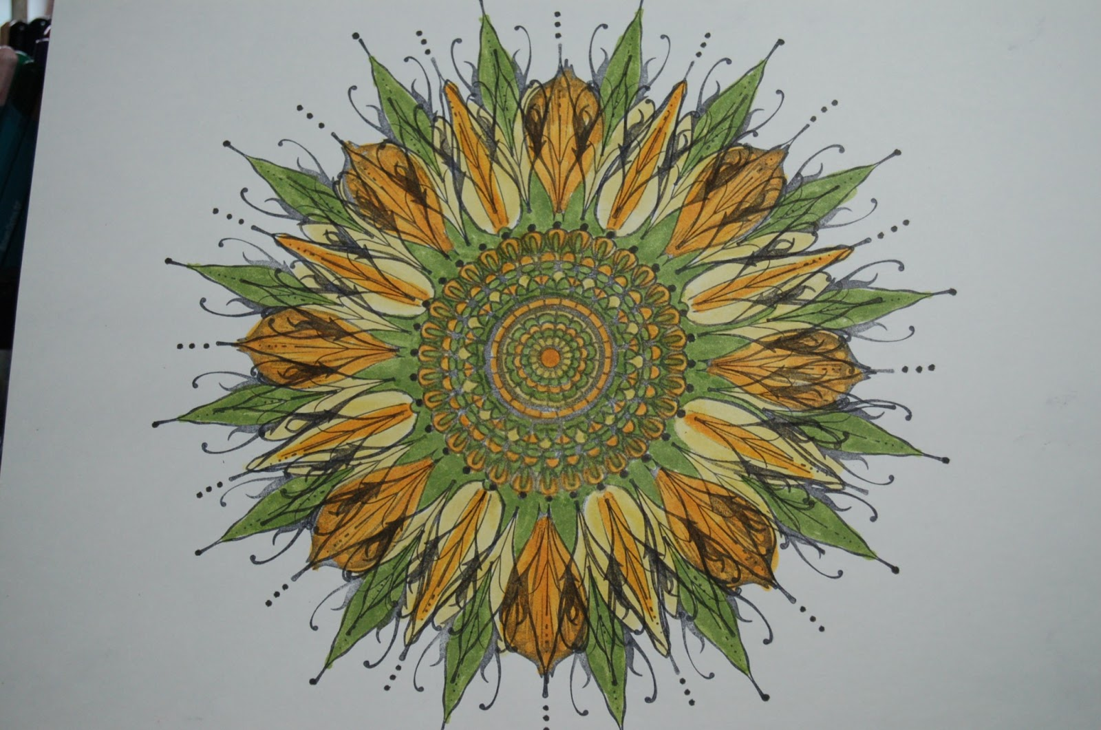 Trippy Sunflower Tapestry