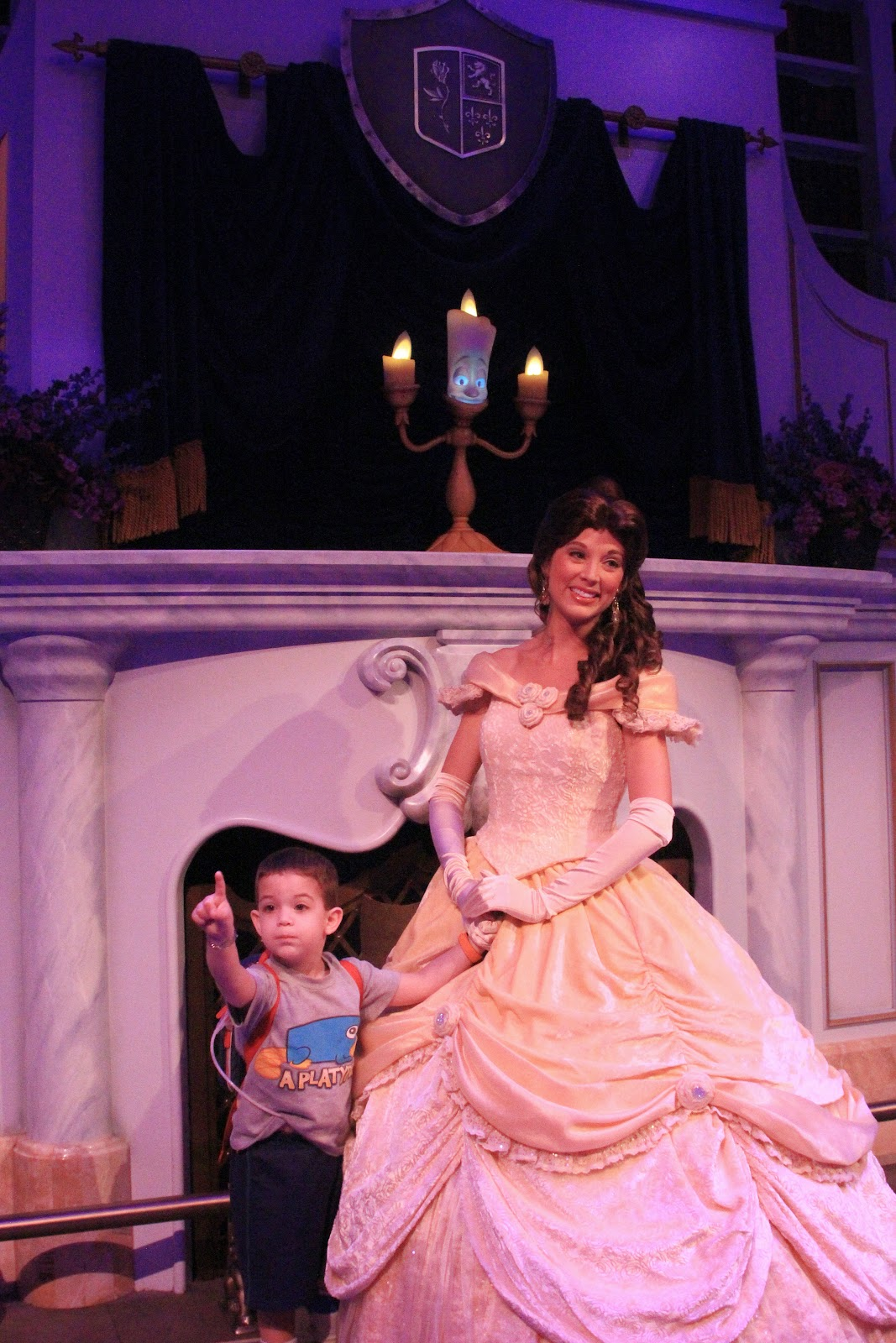 Enchanted Tales with Belle and Lumiere