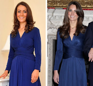 Heidi Agan, Kate Middleton, Lookalike