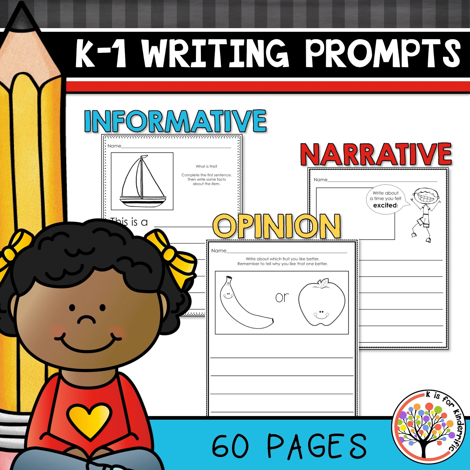 K-1 Writing Prompts