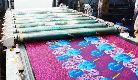 Pigment printing process