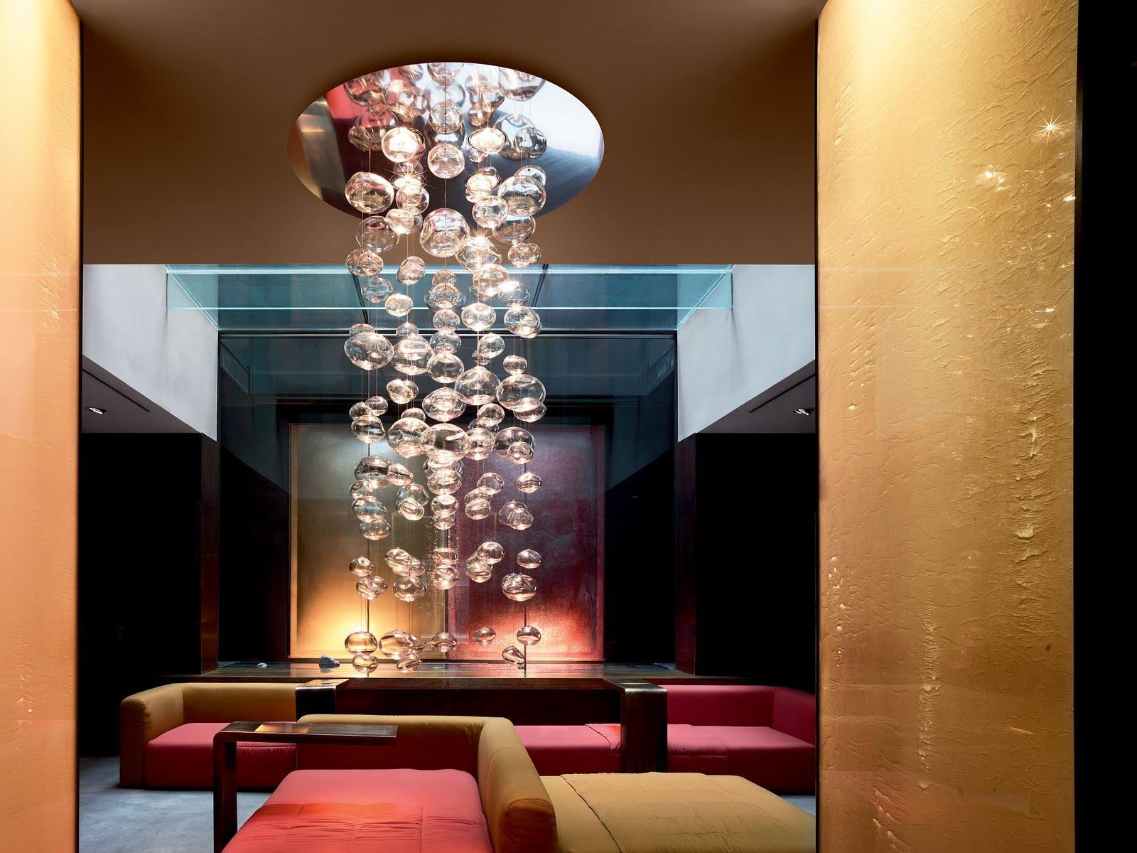 modern interior design Ether S 50™ Light Glass Steel