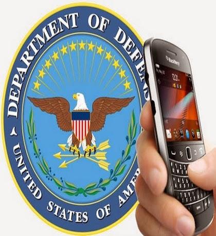 """Todos sabemos que los dispositivos BlackBerry son los dispositivos más seguros en el mundo, en agosto de 2013, BlackBerry fue galardonado con """"autoridad para operar"""" en Las Redes del Departamento de Defensa de EE.UU. que validó el modelo de seguridad de BlackBerry. Un nuevo informe de NextGov confirma que los dispositivos BlackBerry conformarán el 98% por ciento de los dispositivos utilizados en el nuevo sistema del Pentágono asegurado mientras que Android y iOS conformarán 2% combinada."""