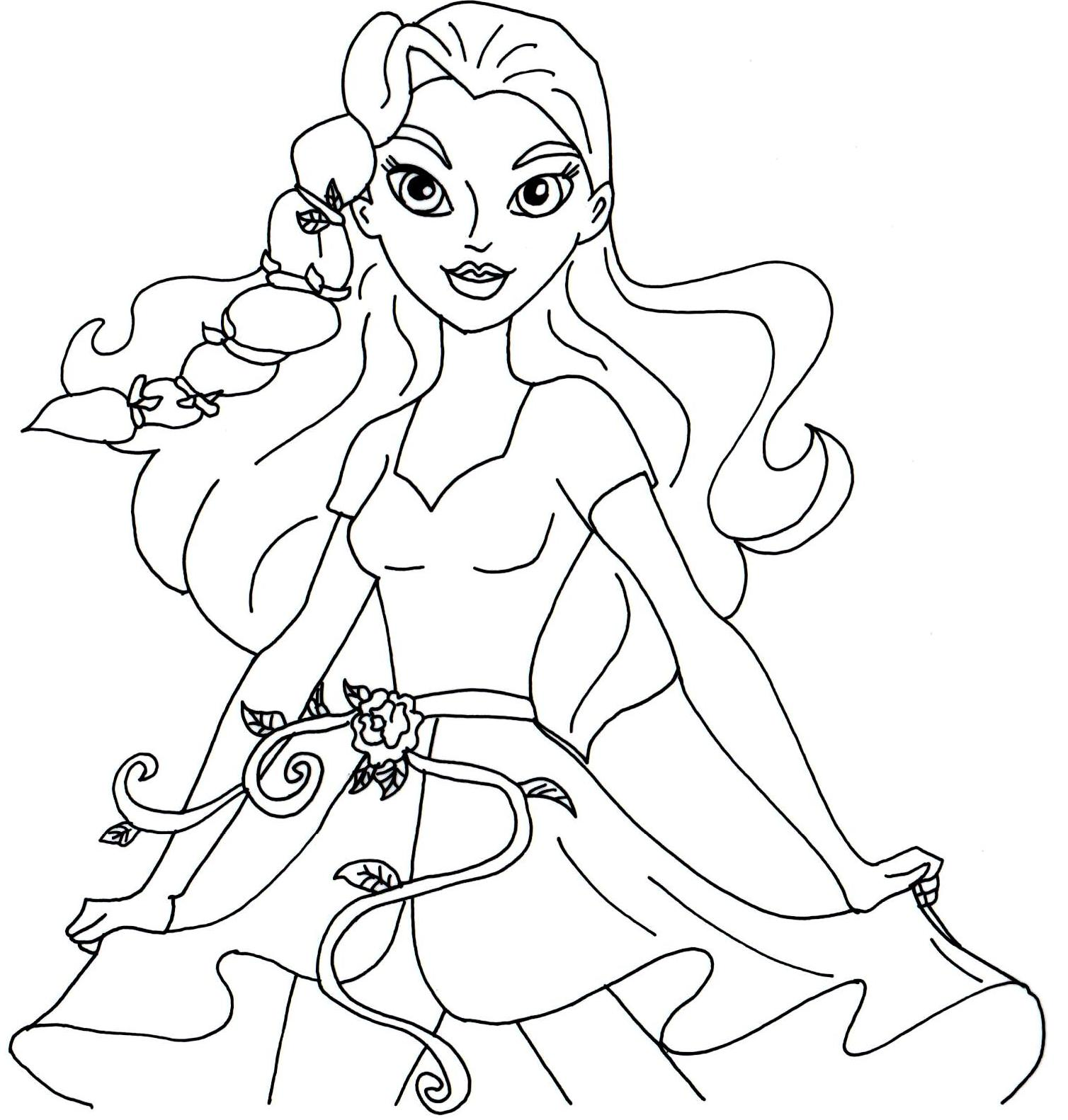 100 ideas Dc Superhero Coloring Pages on gerardduchemann