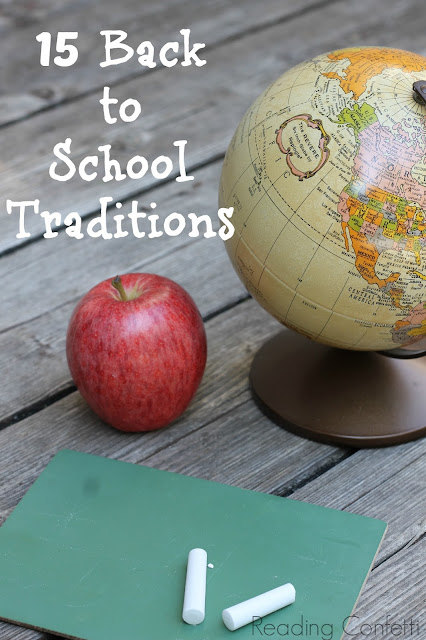 15 easy back to school traditions you can start with your kids THIS year!