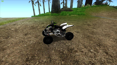 GTA SA - ATV Monster energy