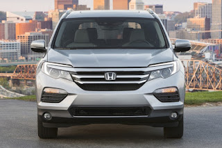 2016 All New Honda Pilot Design n performance front view