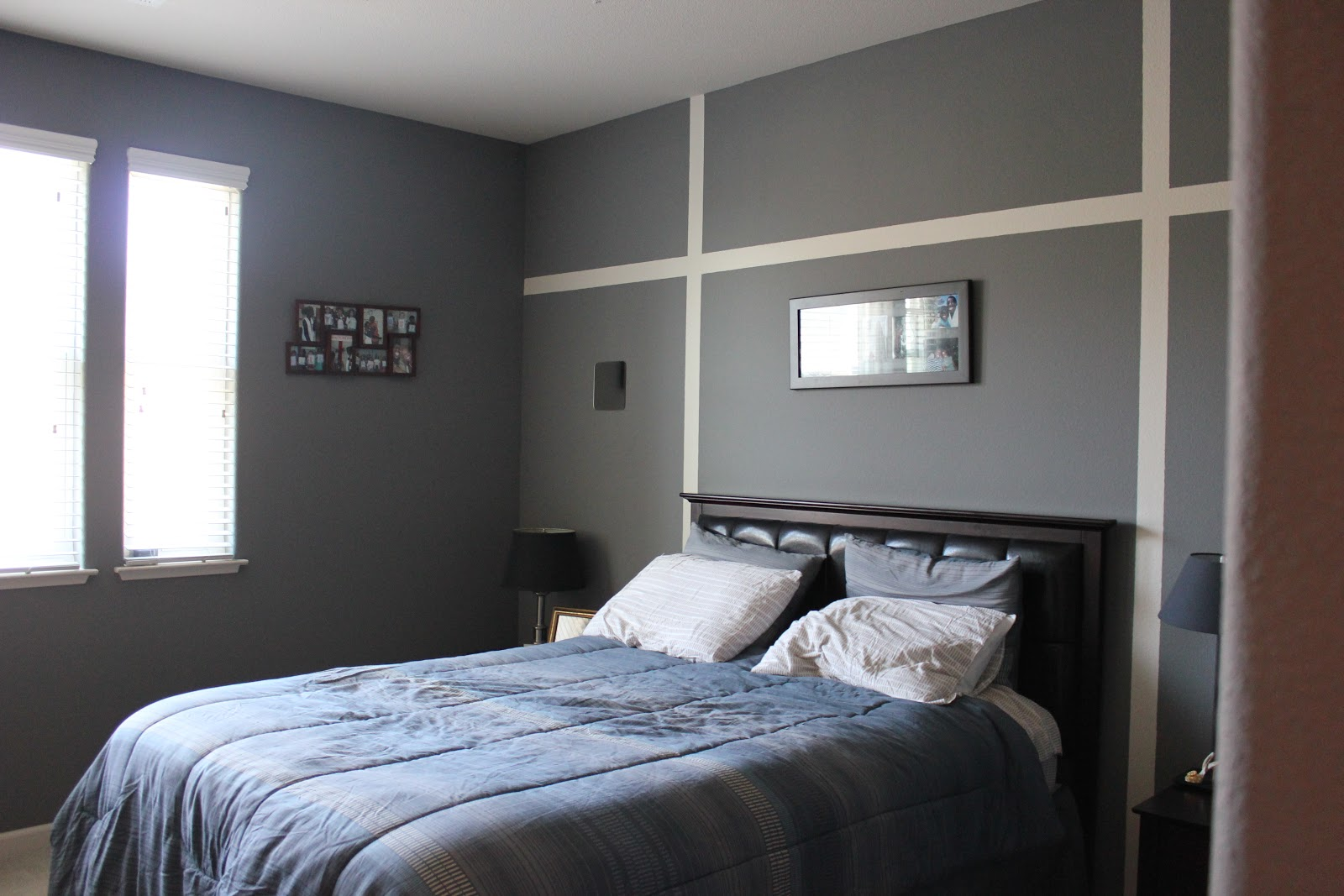 Inside the frame textured walls absence of color for New master bedroom designs