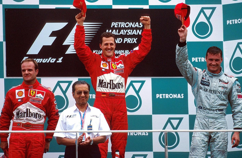 GP da Malásia de Formula 1, Sepang, em 2001 - gps.gpexpert.com.br
