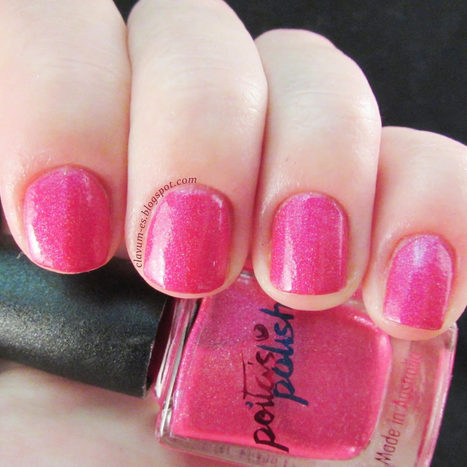 Pink Blitz Swatch