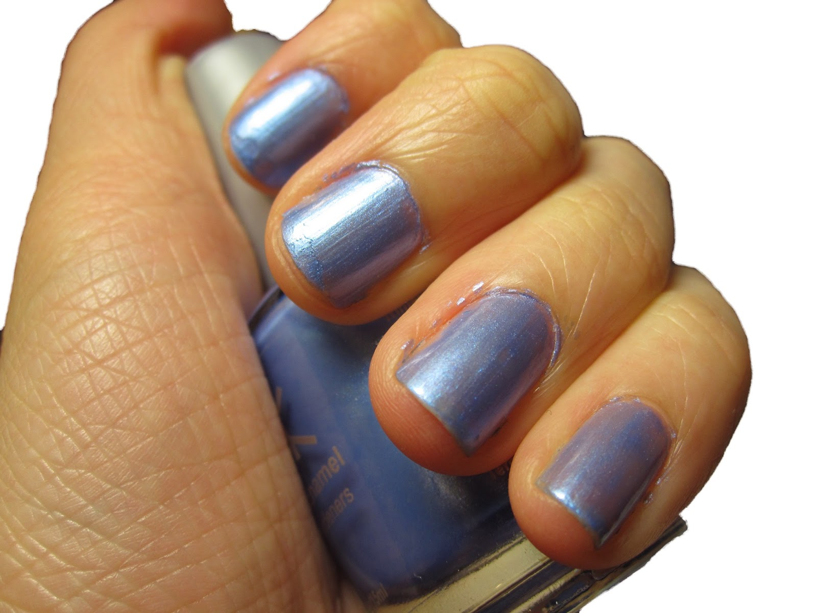 Everlastinghail: Nail Polish Review: Nicka K Heart Blue