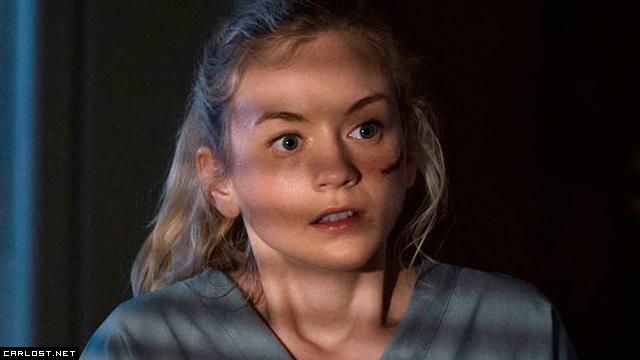 Beth (Emily Kinney) en The Walking Dead 5x04 Slabtown