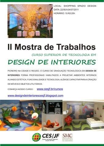 Design de interiores ii mostra de trabalhos do curso for Curso de design de interiores no exterior