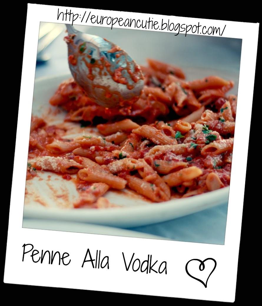 penne alla vodka ♥