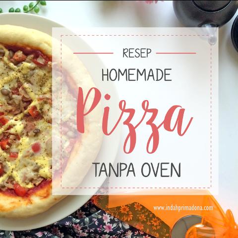 homemade pizza, pizza tanpa oven