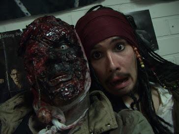 George A. Romero & Jack Sparrow - tribute by: Ari Savonen & Janne-Markus Katila.