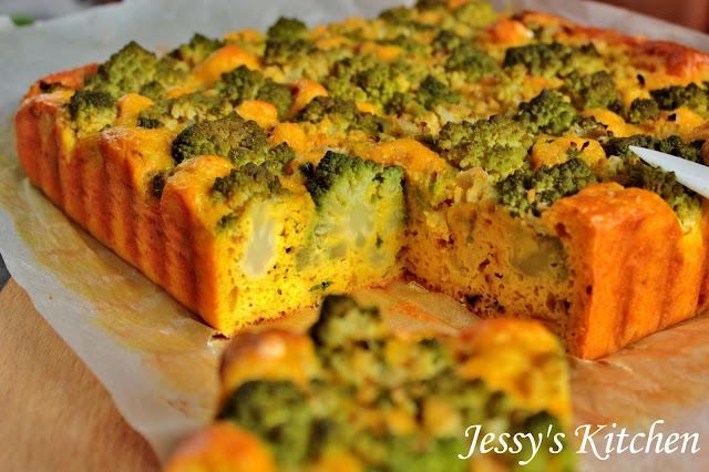 Jessy 39 s kitchen cake au chou romanesco - Comment cuisiner le chou romanesco ...