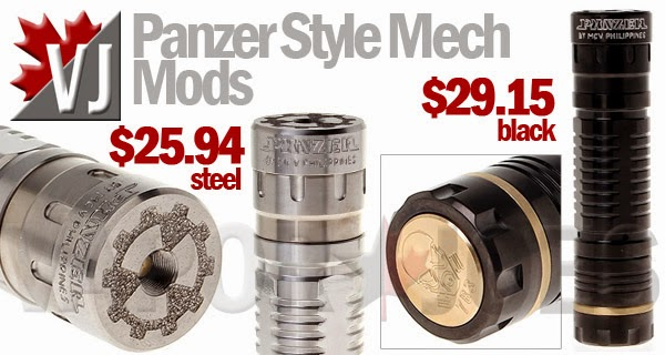 Panzer Styled Telescopic Mechanical Mods