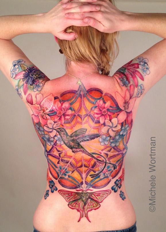 Jardim Comisco - Michele Wortman - Tattoo Feminina